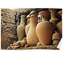 Pottery Shop - Fes, Morocco Poster