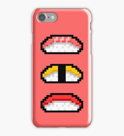 Pixel Nigiri Sushi iPhone Case/Skin