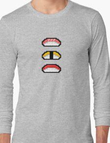 Pixel Nigiri Sushi Long Sleeve T-Shirt