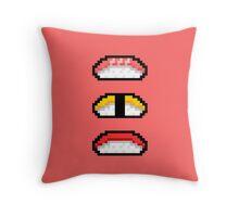 Pixel Nigiri Sushi Throw Pillow