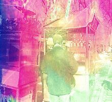 he was buying her a pretzel, but what he was really doing was breaking her heart. by ShellyKay