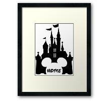 Castle home Framed Print