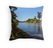 Snowy Sojourn Throw Pillow