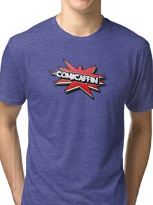 Comicaffin - YouTube Logo Tri-blend T-Shirt
