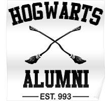 Hogwarth Alumni Poster