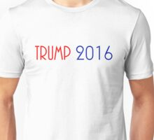 TRUMP 2016 (RED & BLUE) FOR PRESIDENT Unisex T-Shirt