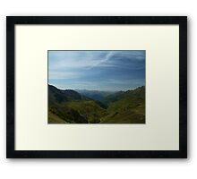 Valley of Green Framed Print