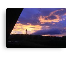 Coloured Sky 01 Canvas Print