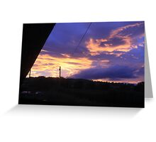 Coloured Sky 01 Greeting Card