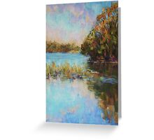 Lake Cathie late afternoon Greeting Card