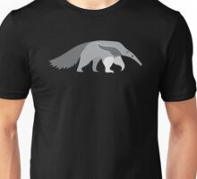 Simple grey ANTEATER Unisex T-Shirt