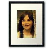 """Portrait of Aliyah ...."" Framed Print"