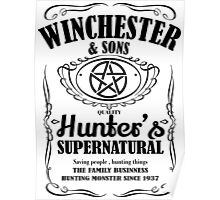 winchester & sons Poster