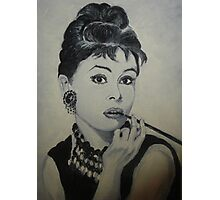 Audrey H Photographic Print