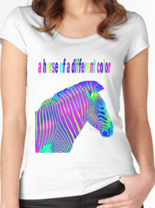 a horse of a different color Women's Fitted Scoop T-Shirt
