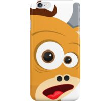 Cartoon Ox iPhone Case/Skin