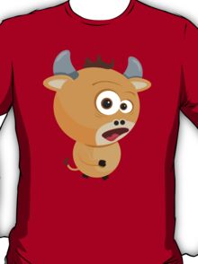 Cartoon Ox T-Shirt