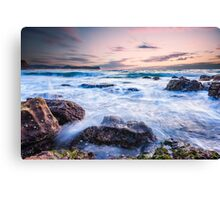 Swirling Ocean Canvas Print