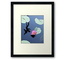 Water Lillies 10 Framed Print