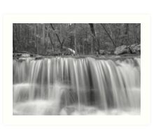 Middle of Collins Creek Art Print