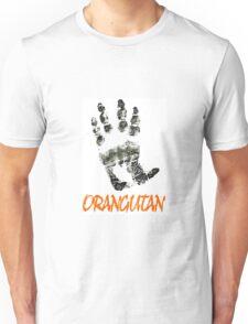 ORANGUTAN PALM Unisex T-Shirt