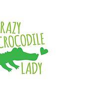 Crazy Crocodile lady by jazzydevil