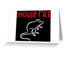 Mouse rat 2 Greeting Card