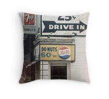 Brains 25 cents Throw Pillow