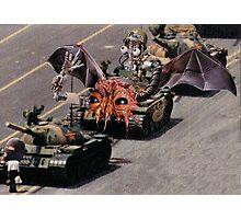 """Tiananmen Robots.........alternate reality distortion"" Photographic Print"