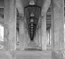 Underneath the Broadway Bridge by davidsimmons