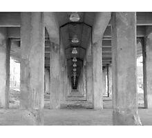 Underneath the Broadway Bridge Photographic Print