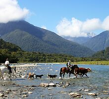 """wayward""   paringa river  south island, nz by rina  thompson"