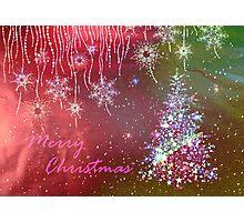Merry Christmas! Photographic Print