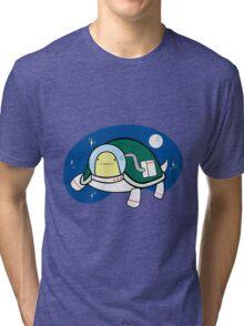 Space Turtle a.k.a Turtlenaut Tri-blend T-Shirt