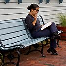 Smoke And A Good Book by phil decocco