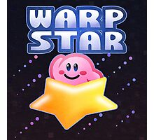 Kirby Warp Star Photographic Print