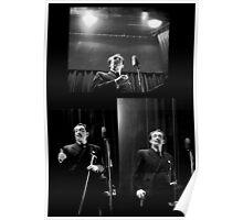 Dali Triptych  at Columbia University Poster