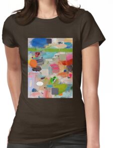 messages 010 Womens Fitted T-Shirt