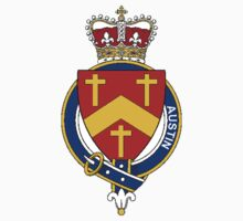 Coat of arms (family crest) for last-name or surname Austin (England) . Heraldry banner for your name. by rita24