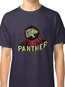 Panther Motorcycle Logo Classic T-Shirt