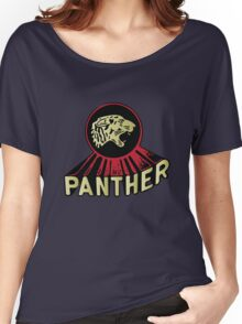Panther Motorcycle Logo Women's Relaxed Fit T-Shirt
