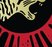 Panther Motorcycle Logo Sticker