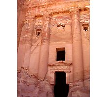Urn Tomb - Petra, Jordan Photographic Print