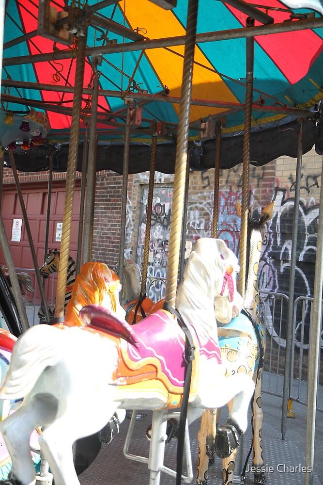 Merry Go Round- Brooklyn by Caroline Pugh