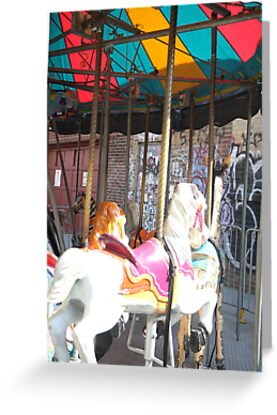 Merry Go Round- Brooklyn by Caroline Pugh