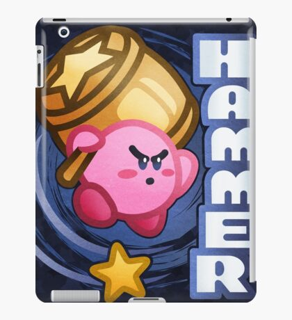 Kirby Hammer iPad Case/Skin