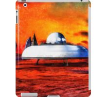 UFO On Ancient Planet by Raphael Terra iPad Case/Skin