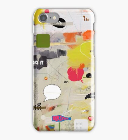 messages 012 iPhone Case/Skin