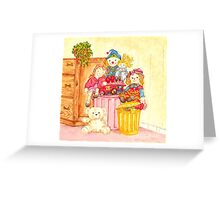 Teddy and Toys Greeting Card