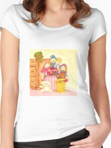 Teddy and Toys Women's Fitted Scoop T-Shirt